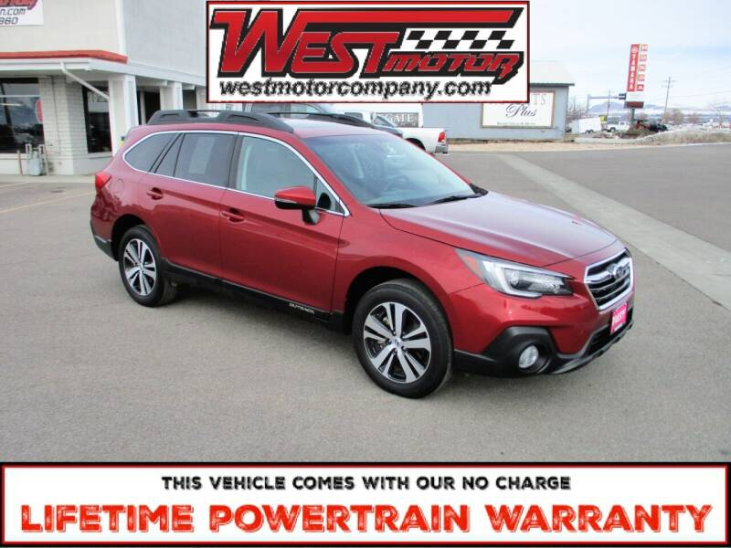 2019 Subaru Outback for sale at West Motor Company in Hyde Park UT