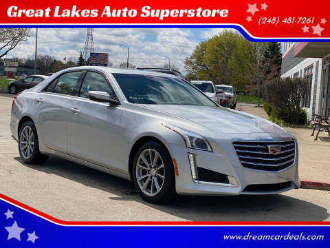 2019 Cadillac CTS for sale at Great Lakes Auto Superstore in Pontiac MI
