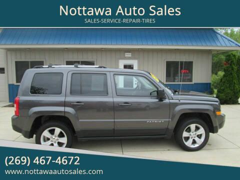 2015 Jeep Patriot for sale at Nottawa Auto Sales in Nottawa MI