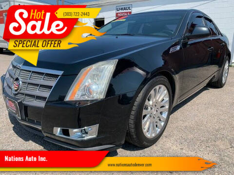 2009 Cadillac CTS for sale at Nations Auto Inc. in Denver CO