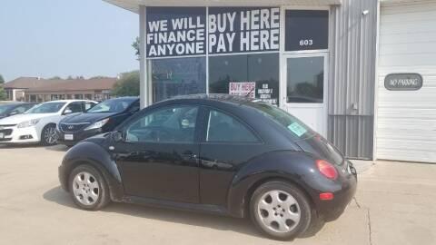 2003 Volkswagen New Beetle for sale at STERLING MOTORS in Watertown SD