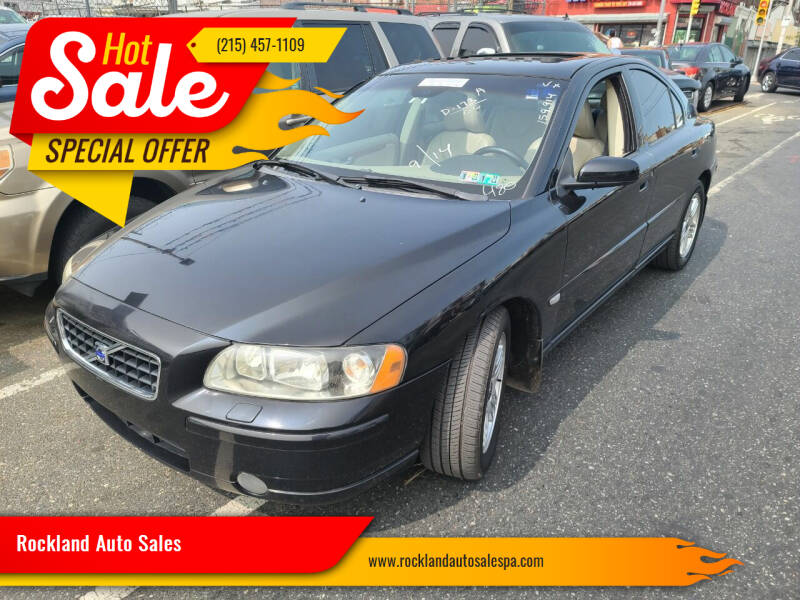 2006 Volvo S60 for sale at Rockland Auto Sales in Philadelphia PA