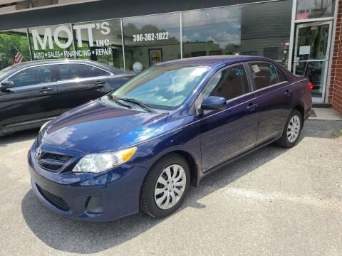 2012 Toyota Corolla for sale at Mott's Inc Auto in Live Oak FL