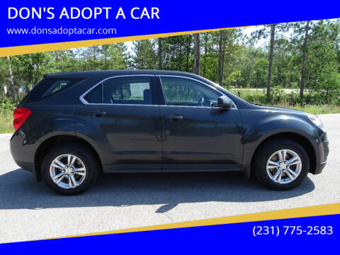 2014 Chevrolet Equinox for sale at DON'S ADOPT A CAR in Cadillac MI