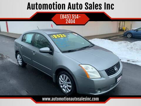 2009 Nissan Sentra for sale at Automotion Auto Sales Inc in Kingston NY