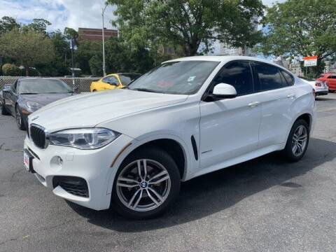 2017 BMW X6 for sale at Sonias Auto Sales in Worcester MA