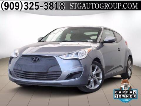 2016 Hyundai Veloster for sale at STG Auto Group in Montclair CA