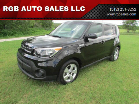2018 Kia Soul for sale at RGB AUTO SALES LLC in Manor TX