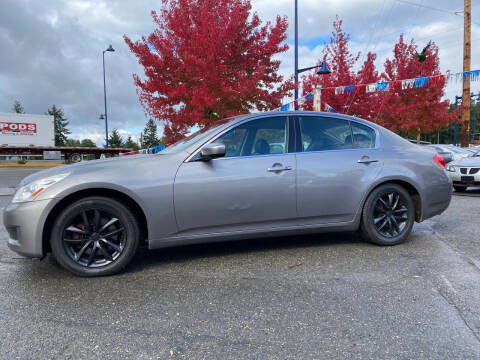 2009 Infiniti G37 Sedan for sale at Valley Sports Cars in Des Moines WA