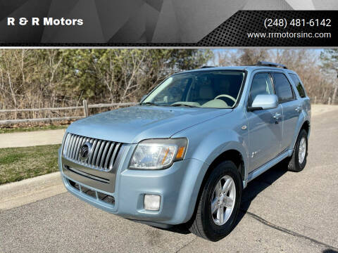 2008 Mercury Mariner Hybrid for sale at R & R Motors in Waterford MI