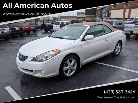 2005 Toyota Camry Solara for sale at All American Autos in Kingsport TN