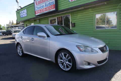 2006 Lexus IS 250 for sale at Amazing Choice Autos in Sacramento CA