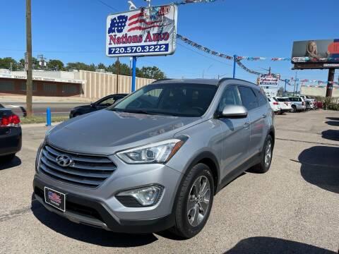 2014 Hyundai Santa Fe for sale at Nations Auto Inc. II in Denver CO