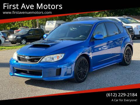 2014 Subaru Impreza for sale at First Ave Motors in Shakopee MN