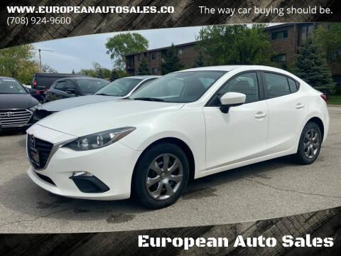 2014 Mazda MAZDA3 for sale at European Auto Sales in Bridgeview IL