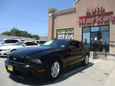2014 Ford Mustang for sale at Auto Market in Oklahoma City OK