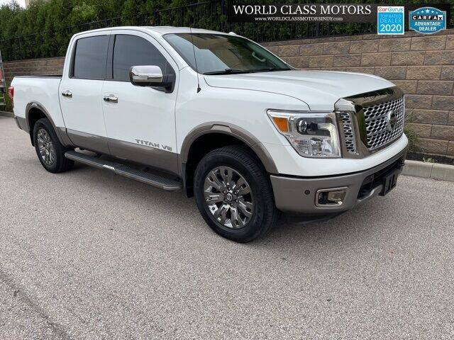 2018 Nissan Titan for sale at World Class Motors LLC in Noblesville IN