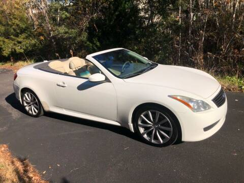 2010 Infiniti G37 Convertible for sale at Muscle Cars USA 1 in Murrells Inlet SC