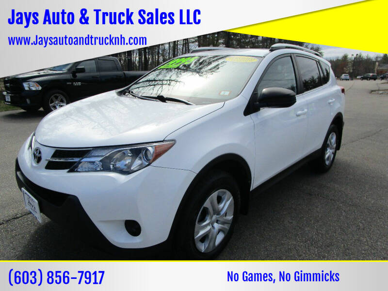 2015 Toyota RAV4 for sale at Jays Auto & Truck Sales LLC in Loudon NH