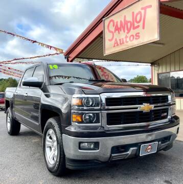 2014 Chevrolet Silverado 1500 for sale at Sandlot Autos in Tyler TX