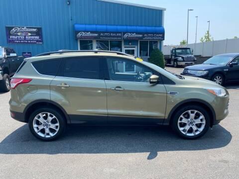 2013 Ford Escape for sale at Platinum Auto in Abington MA