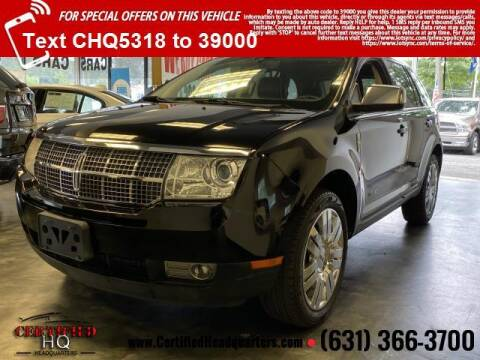 2008 Lincoln MKX for sale at CERTIFIED HEADQUARTERS in Saint James NY