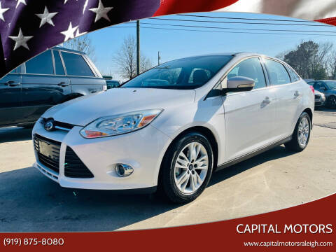 2012 Ford Focus for sale at Capital Motors in Raleigh NC