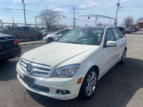 2010 Mercedes-Benz C-Class for sale at American Best Auto Sales in Uniondale NY