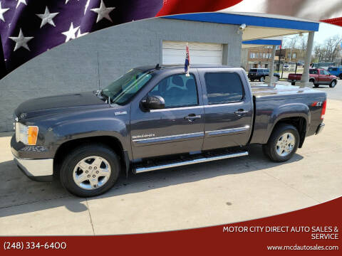 2010 GMC Sierra 1500 for sale at Motor City Direct Auto Sales & Service in Pontiac MI