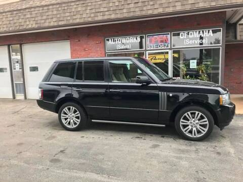 2010 Land Rover Range Rover for sale at AUTOWORKS OF OMAHA INC in Omaha NE