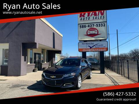2016 Chevrolet Impala for sale at Ryan Auto Sales in Warren MI