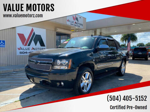 2010 Chevrolet Avalanche for sale at VALUE MOTORS in Kenner LA