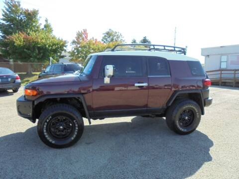 2007 Toyota FJ Cruiser for sale at B & G AUTO SALES in Uniontown PA