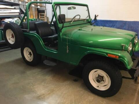 1974 Jeep CJ-5 for sale at Haggle Me Classics in Hobart IN