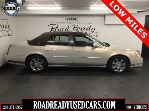 2007 Cadillac DTS for sale at Road Ready Used Cars in Ansonia CT