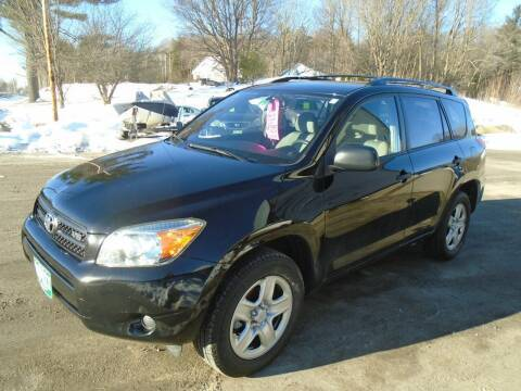 2007 Toyota RAV4 for sale at Wimett Trading Company in Leicester VT