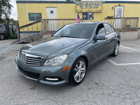 2012 Mercedes-Benz C-Class for sale at Honest Abe Auto Sales 2 in Indianapolis IN
