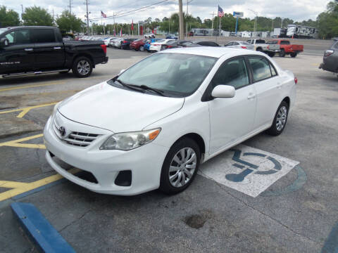 2012 Toyota Corolla for sale at ORANGE PARK AUTO in Jacksonville FL