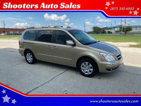 2007 Hyundai Entourage for sale at Shooters Auto Sales in Fort Worth TX