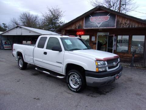 2003 Chevrolet Silverado 2500HD for sale at LEE AUTO SALES in McAlester OK