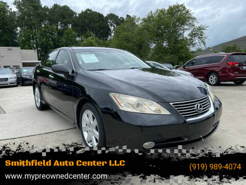 2009 Lexus ES 350 for sale at Smithfield Auto Center LLC in Smithfield NC