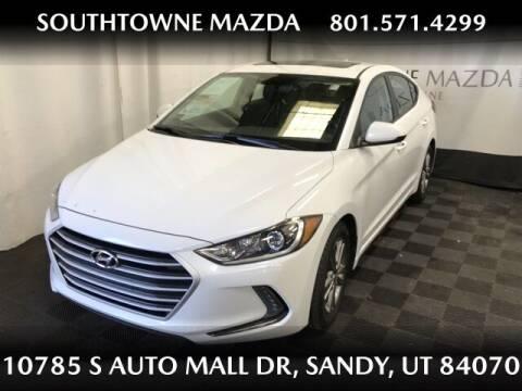 2018 Hyundai Elantra for sale at Southtowne Mazda of Sandy in Sandy UT