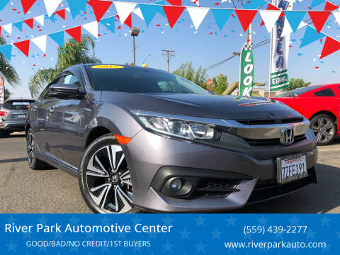 2017 Honda Civic for sale at River Park Automotive Center in Fresno CA