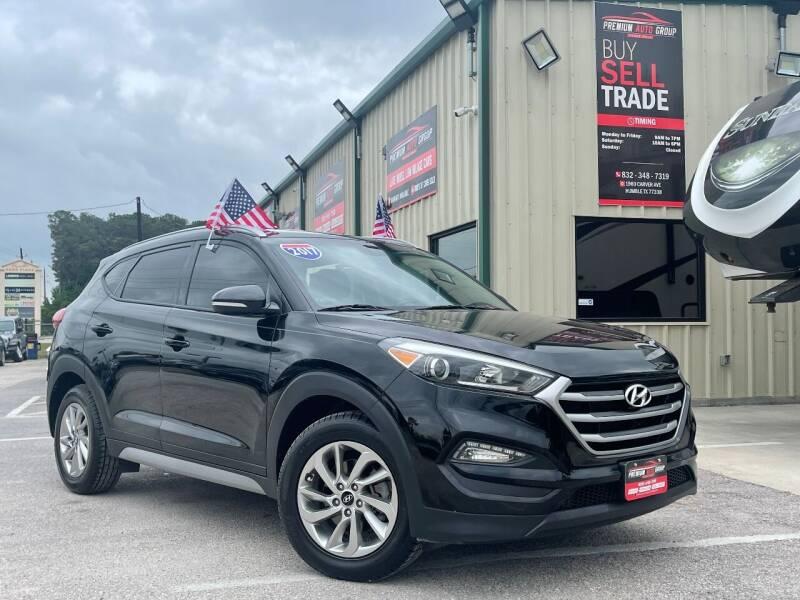 2017 Hyundai Tucson for sale at Premium Auto Group in Humble TX