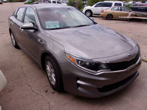 2016 Kia Optima for sale at Barney's Used Cars in Sioux Falls SD