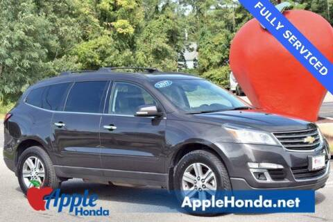 2017 Chevrolet Traverse for sale at APPLE HONDA in Riverhead NY