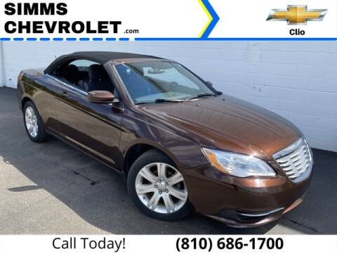 2012 Chrysler 200 Convertible for sale at Aaron Adams @ Simms Chevrolet in Clio MI