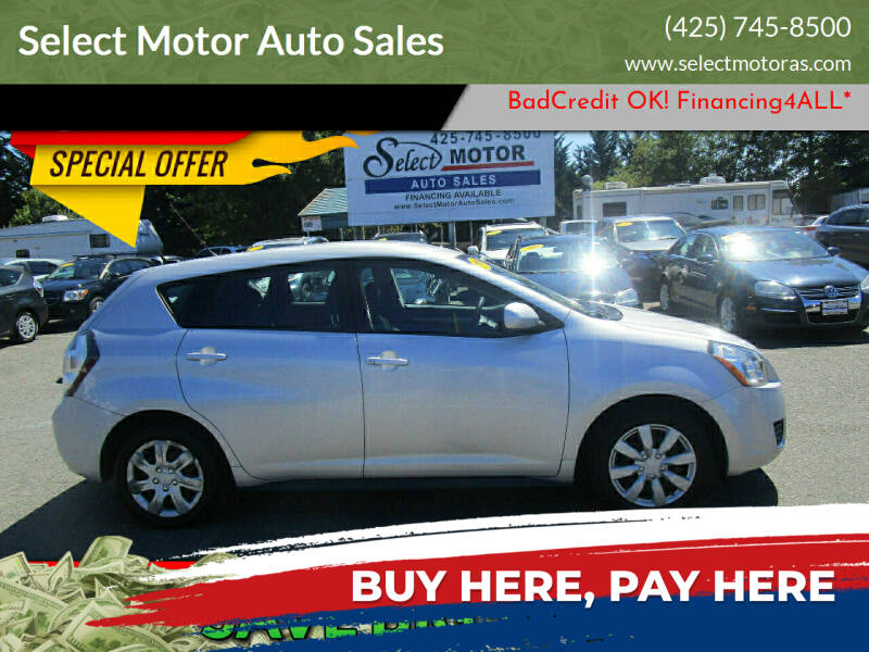 2009 Pontiac Vibe for sale at Select Motor Auto Sales in Lynnwood WA