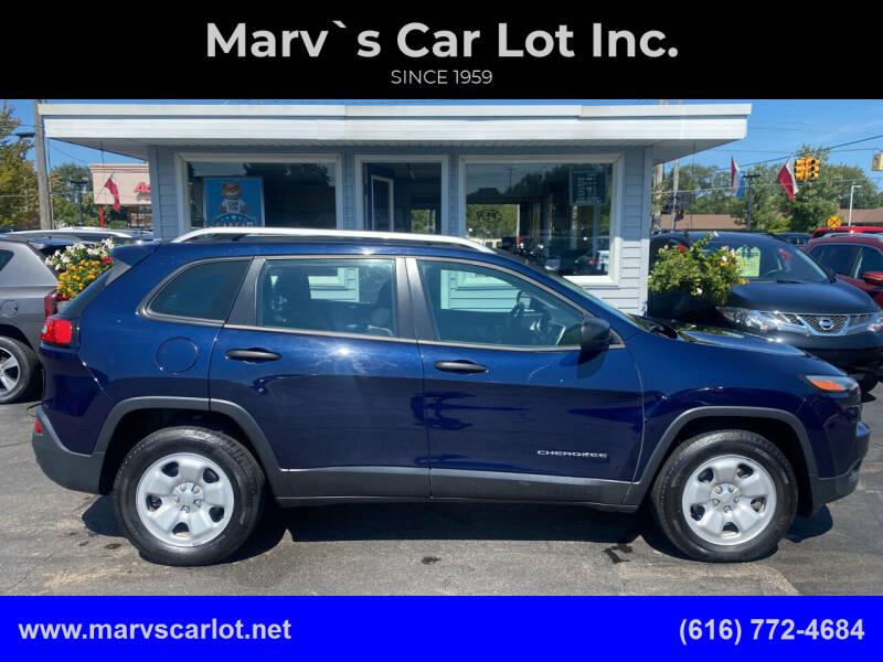 2014 Jeep Cherokee for sale at Marv`s Car Lot Inc. in Zeeland MI