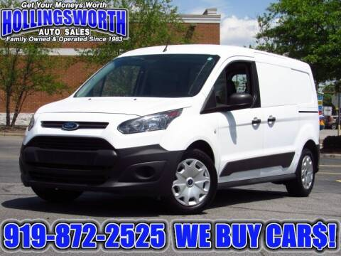 2015 Ford Transit Connect Cargo for sale at Hollingsworth Auto Sales in Raleigh NC